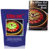 16 oz Ultra Gel with Ultra Gel Answer Book--Free Shipping!!