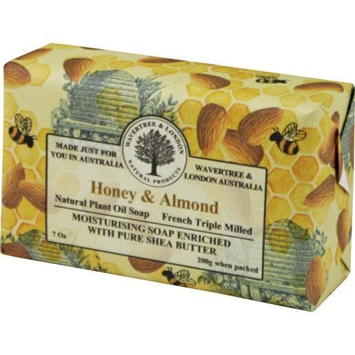 Honey & Almond Soap Wavertree & London