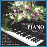 Everyone's Piano Favorites CD-Dan Troxell
