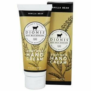 Vanilla Bean Hand & Body Cream Dionis