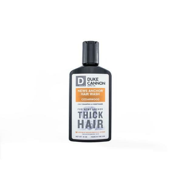 News Anchor Hair Wash: 2-in-1 Shampoo & Conditioner-Cedarwood Scent