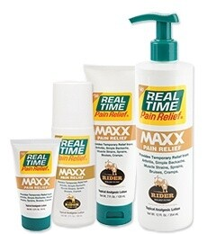 Real Time MAXX Pain Relief 12 oz. Bottle w/Pump