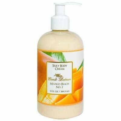 Mango Beach No. 2 Silky Body Cream 13 oz. Bottle w/Pump