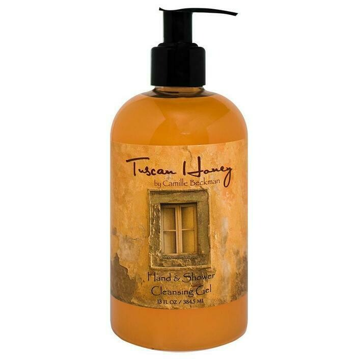 Tuscan Honey Hand and Shower Cleansing Gel 13 oz.
