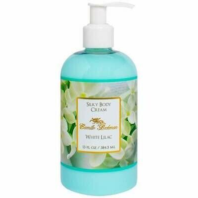 White Lilac Silky Body Cream 13 oz.