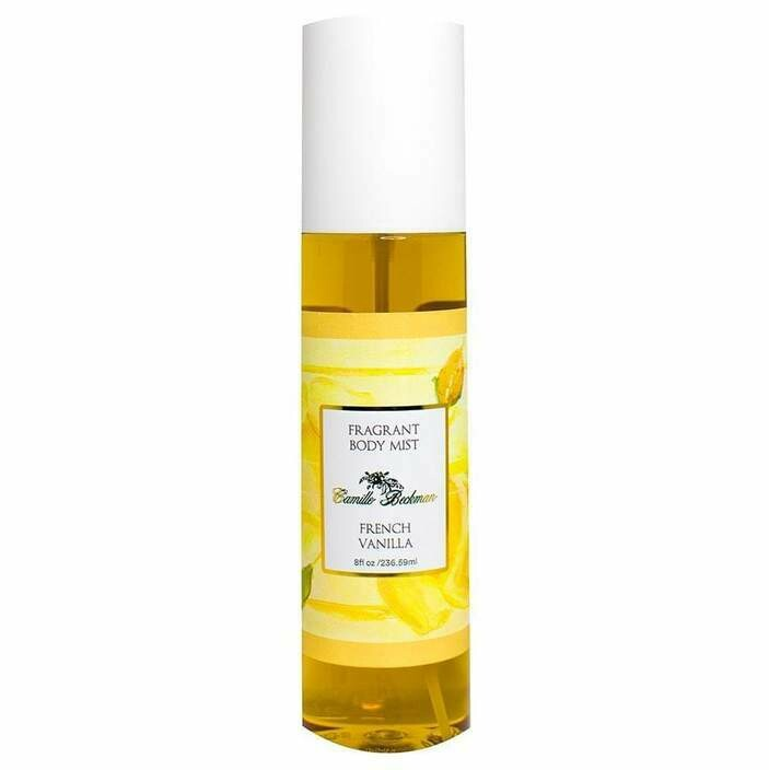 French Vanilla Fragrant Body Mist 8 oz.