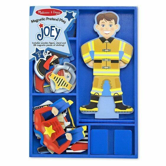 Joey-Magnetic Dress Up Set