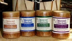 Nuwati Bath Salt Assorted 4 pack