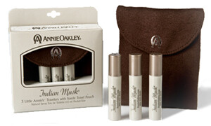 Indian Musk Traveler's Pack with Suede Pouch