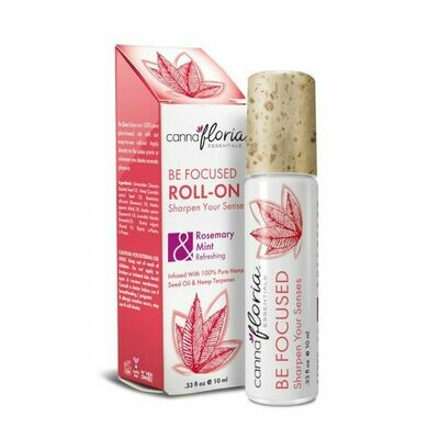 Be Focused Aromatherapy Roll-On CannaFloria
