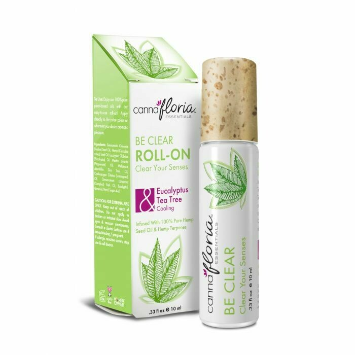 Be Clear Aromatherapy Roll-On CannaFloria