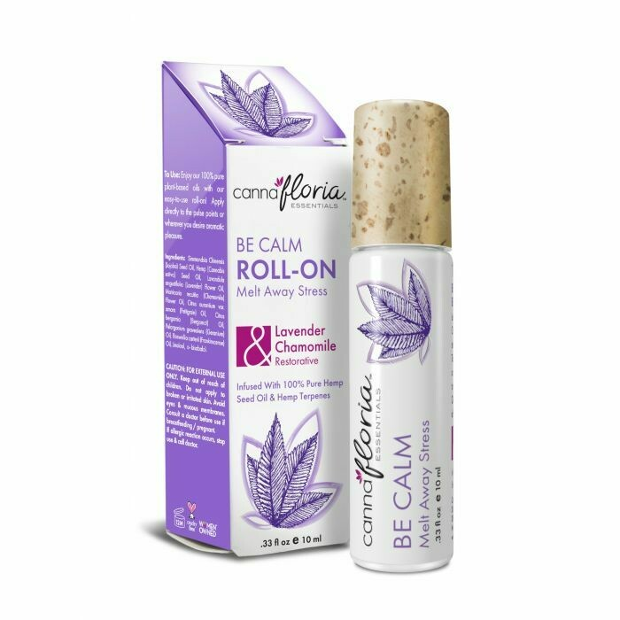 Be Calm Aromatherapy Roll-On CannaFloria