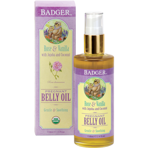 Organic Pregnant Belly Oil Badger