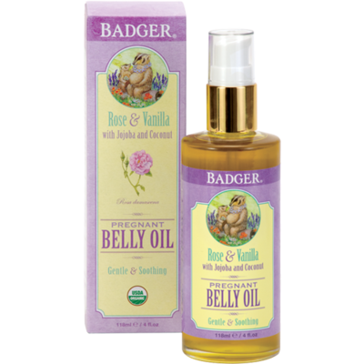 Organic Pregnant Belly Oil Badger