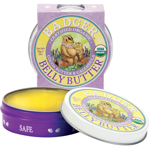 Organic Pregnant Belly Butter Badger