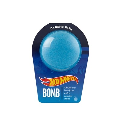 Hot Wheels Bath Bomb Blue-DA BOMB