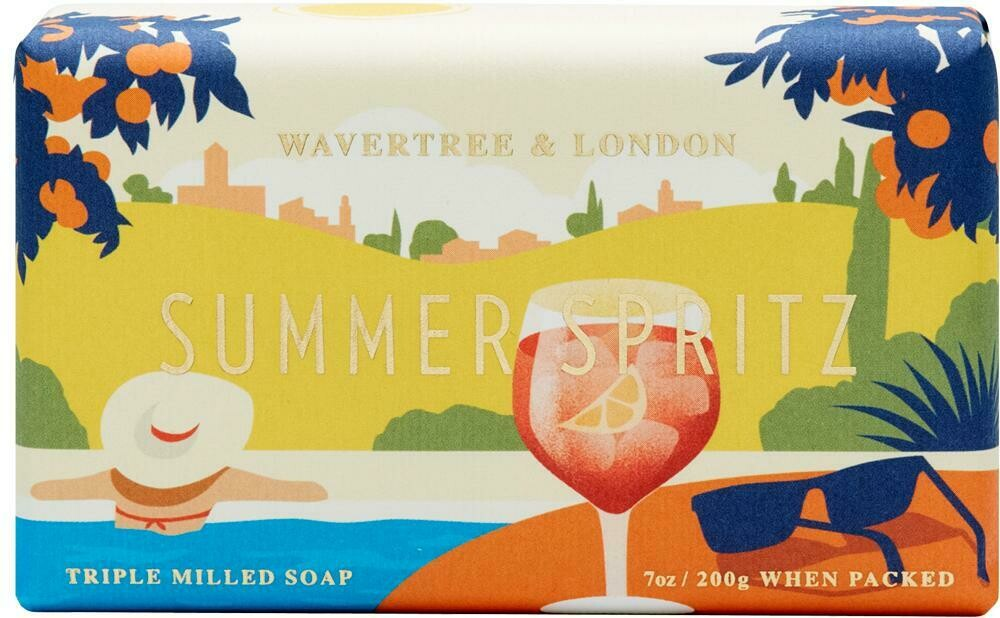 Summer Spritz Soap Wavertree and London