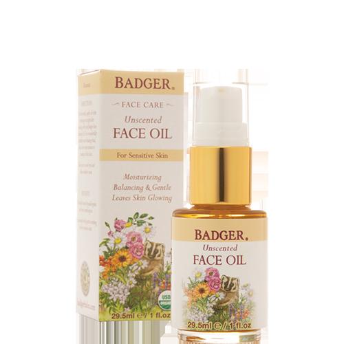Face Oil Unscented Badger