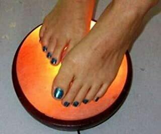 Salt Lamp Foot Detox Dome
