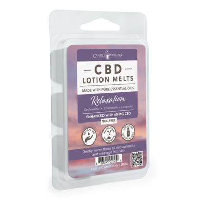 CBD Lotion Wax Melts-Relaxation