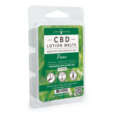 CBD Lotion Wax Melts-Focus