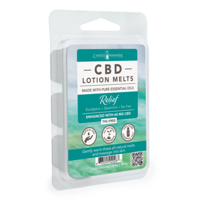 CBD Lotion Wax Melts-Relief