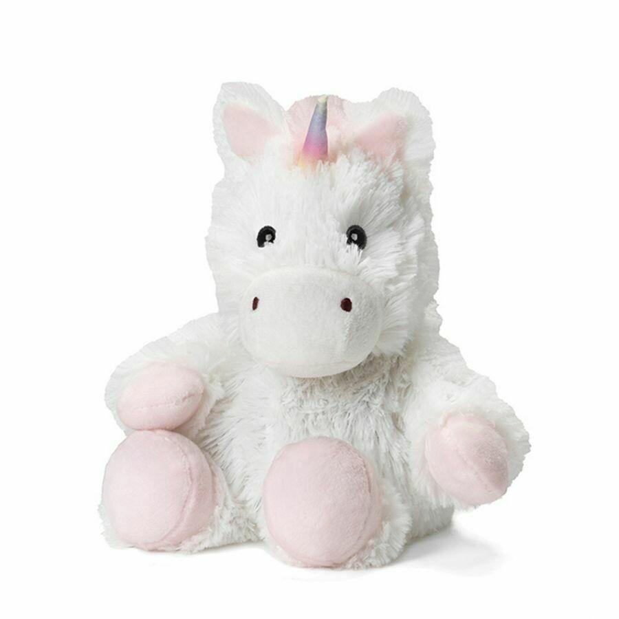 Warmies Cozy Plush Jr. White Unicorn