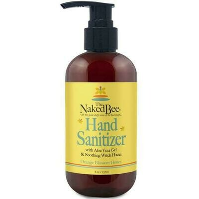Orange Blossom Honey Hand Sanitizer 8oz
