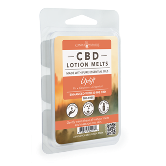 CBD Lotion Wax Melts Uplift