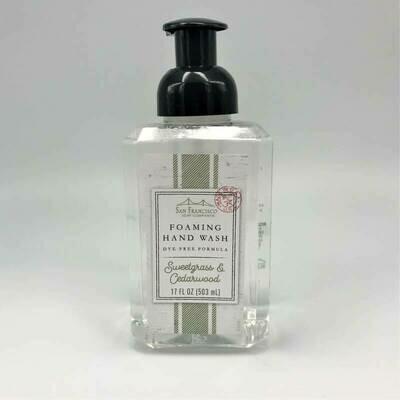 Sweetgrass & Cedarwood Foaming Hand Soap