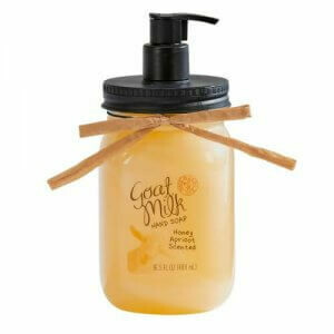 Simply Be Well Honey Apricot Goat Milk Hand Soap