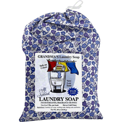 Grandma's Pure and Natural Laundry Soap 40 oz.