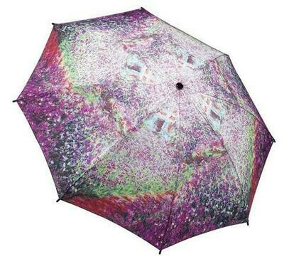 Monet's Garden Folding Umbrella Galleria