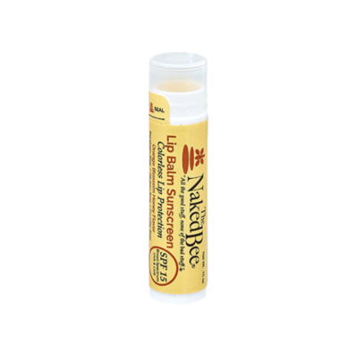 The Naked Bee SPF-15 Lip Balm-Colorless
