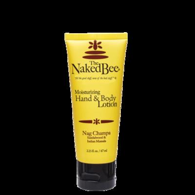 Nag Champa Lotion Naked Bee 2.25oz