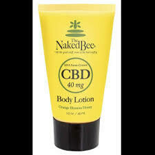 Naked Bee CBD Body Lotion 1.5oz