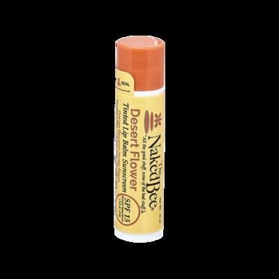The Naked Bee SPF-15 Tinted Lip Balm-Desert Flower