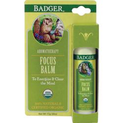 Focus Balm Badger