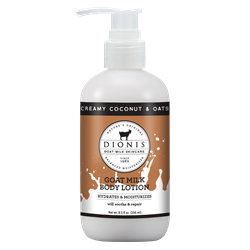 Creamy Coconut & Oats Goat Milk Lotion 8oz.