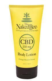 CBD Body Lotion 5.5 oz Naked Bee