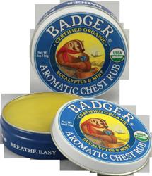 Aromatic Chest Rub Badger 2oz