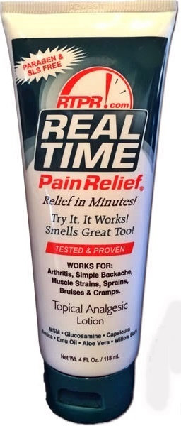 Real Time Pain Relief 5oz