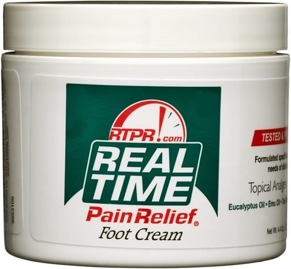 Real Time Pain Relief Foot Cream 4.4oz