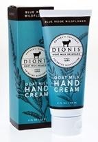 Blue Ridge Wildflower Hand & Body Cream Dionis