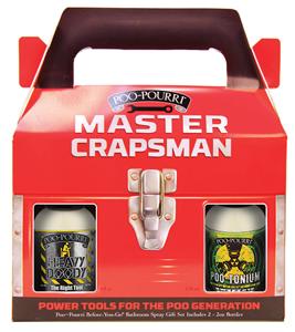 Poo-Pourri Master Crapsman  Set