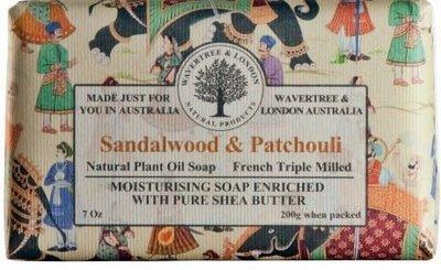 Sandalwood & Patchouli Soap Wavertree & London