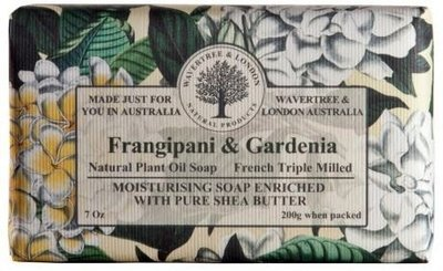 Frangipani & Gardenia Soap Wavertree & London