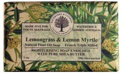 Lemongrass & Lemon Myrtle Soap Wavertree & London