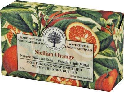 Sicilian Orange Soap Wavertree & London