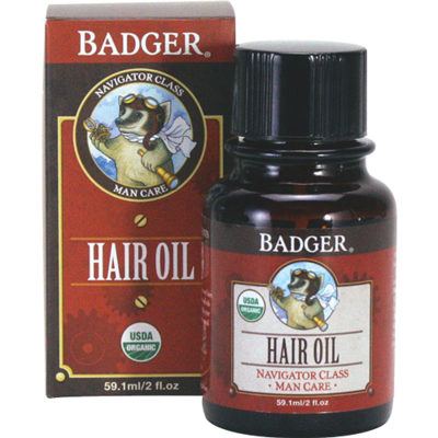 Badger Man Care Hair Oil
